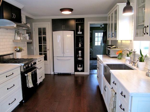 Joyce S Black And White Kitchen 2