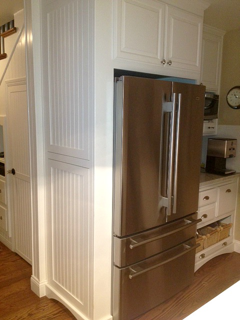 Martha's kitchen-fridge