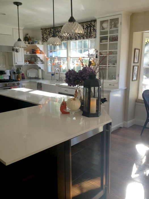 Martha's kitchen island