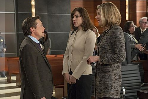 Michael J Fox as Louis Canning on The Good Wife