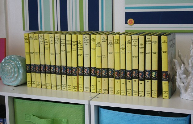 My Nancy Drew Mysteries yellow backs