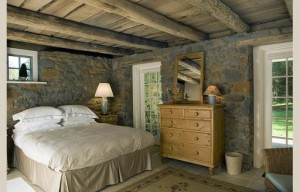 barn-bedroom-stone-walls-lonely cottage lane