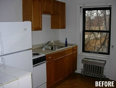 Before & After: A Carriage House Kitchen in Brooklyn