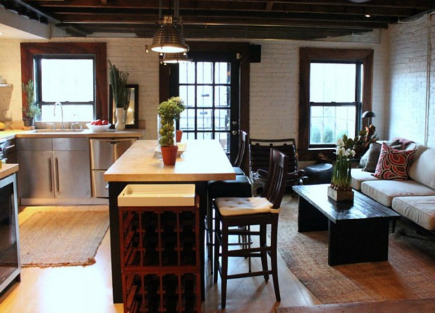 Kathleen Perkins carriage house kitchen Brooklyn (10)