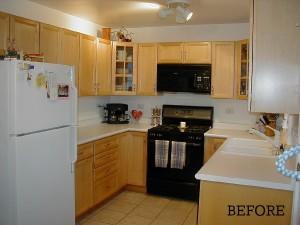 Maribeth's kitchen before