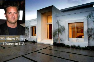 Matthew Perry's house in Los Angeles