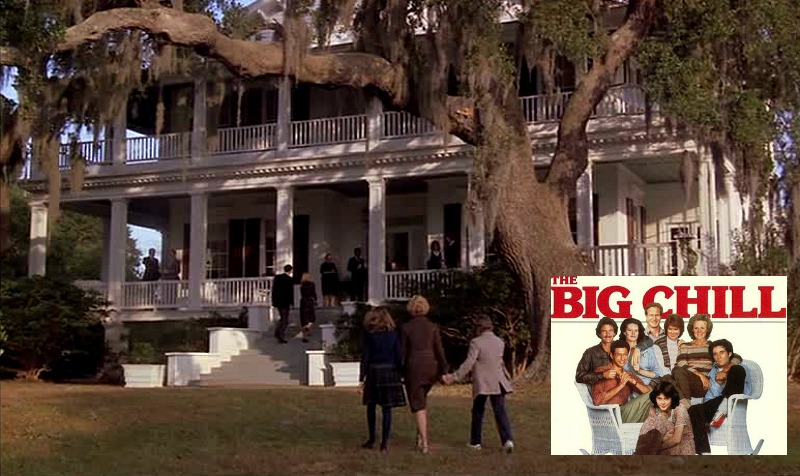 The Big Chill movie house Tidalholm Plantation SC