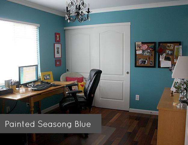 my study painted Season Blue 8-12