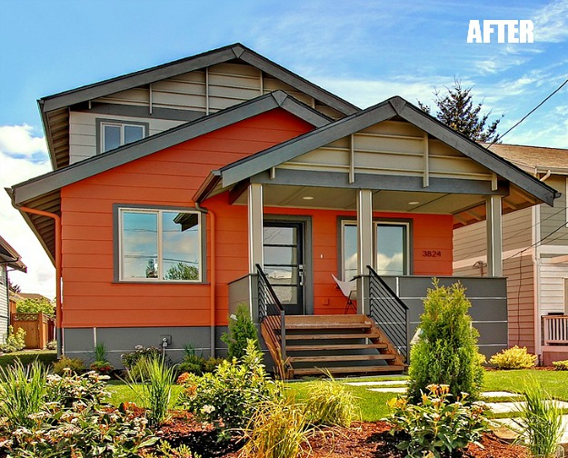 A Beat Up Bungalow Gets A Modern Makeover Hooked On Houses