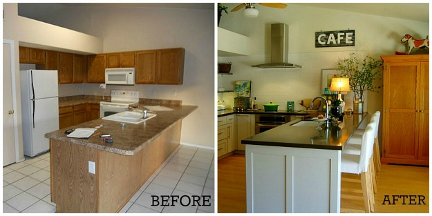 amanda 39 s kitchen makeover before and after