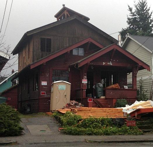 Heaton-Dainard Seattle house during reno
