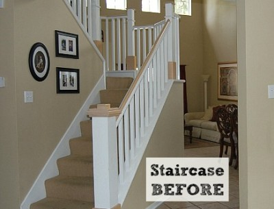 Before & After: Jennifer's DIY Staircase Makeover