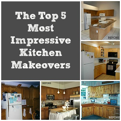 Kitchen contest vote for the best makeover hooked on for Before after kitchen makeovers