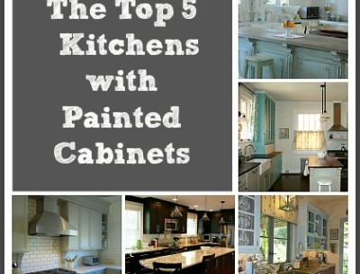 Vote For Your Favorite Kitchen with Painted Cabinets!