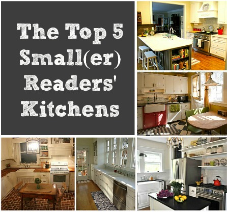 Top 5 Small Kitchens Contest cvr