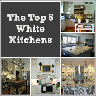 Top 5 White Kitchens Contest 400
