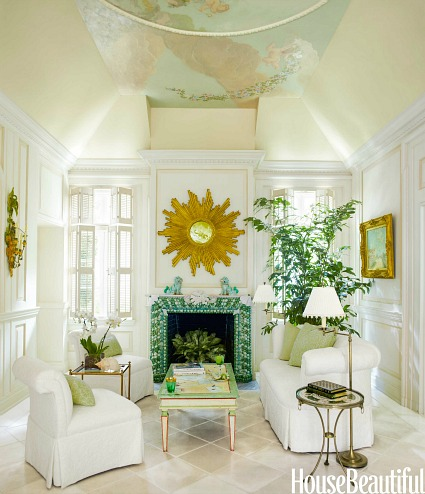 Decorating a maisonette with a small garden hooked on houses for Inside beautiful homes pictures