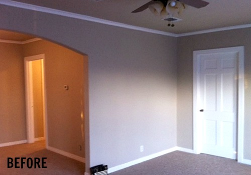 Small Living Room Before-Blissful Bee blog