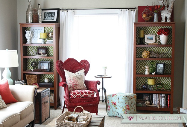 small living room after-Blissful Bee blog 2