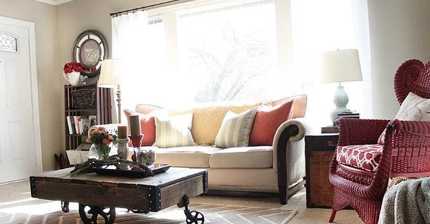 small closet arrangement ideas - Redecorating a small living room