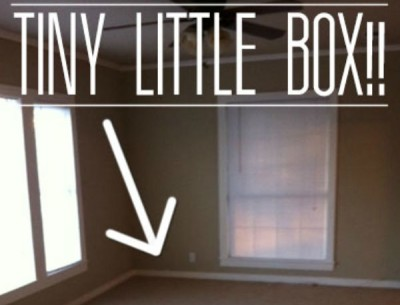 """Before & After: Decorating a """"Tiny Box"""" of a Living Room"""