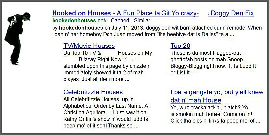 Gizoogle screenshot