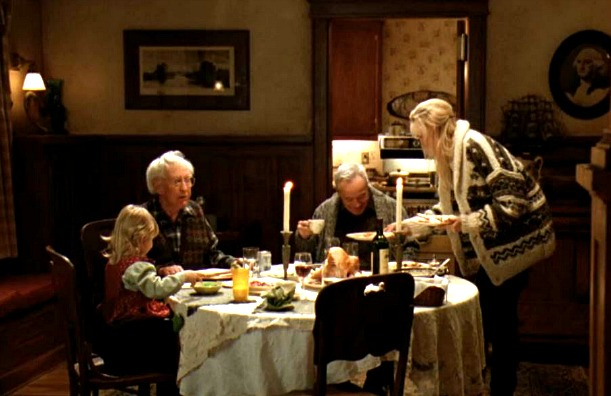 Grumpy Old Men movie house dining room