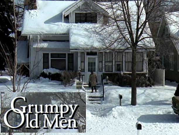 Grumpy Old Men movie house exterior