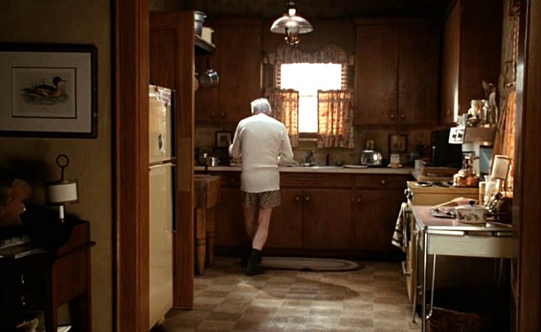 Jack Lemmon's kitchen in Grumpy Old Men movie