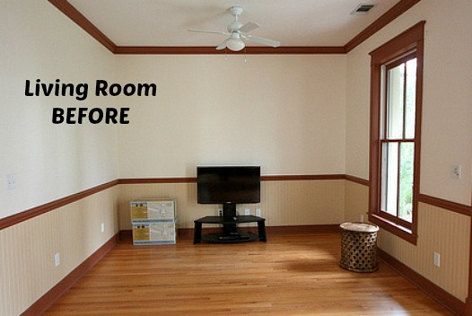 Rosemary Beach Florida living room BEFORE