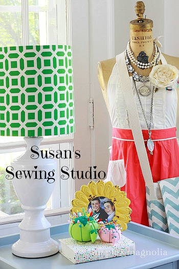 Susan's sewing studio Maple & Magnolia dressform