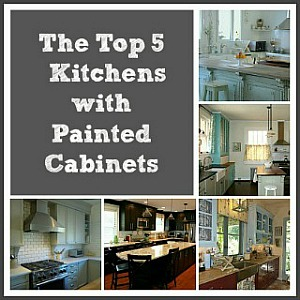 Top-5-Kitchens-with-Painted-Cabinets-collage