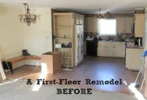 First-Floor Remodel by Eric Ross BEFORE