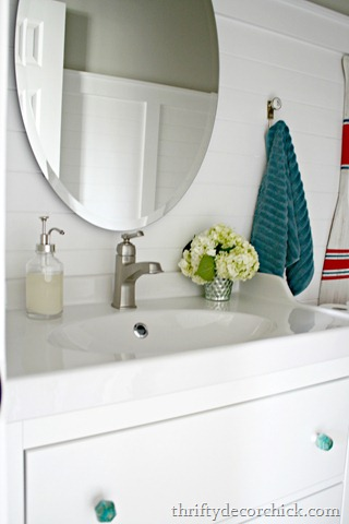 Before And After Sarah S Powder Room Makeover