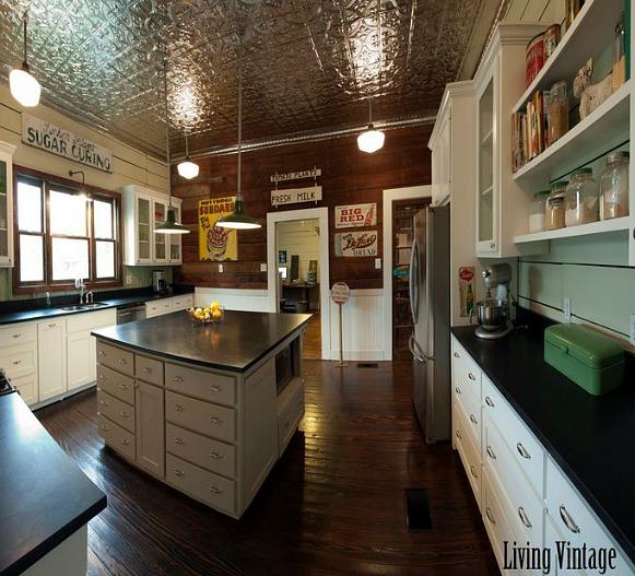 Living Vintage Kim's Kitchen Makeover (11)