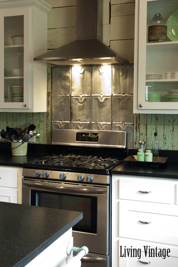 Living Vintage Kitchen Makeover