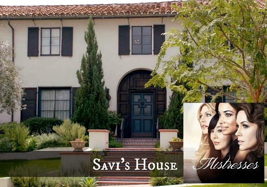 front exterior of Savi's house on TV show Mistresses