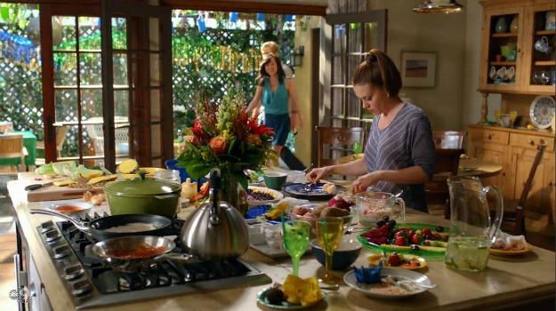 savis kitchen on tv show mistresses abc 5 - The Kitchen Tv Show