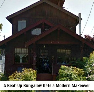Beat-Up Bungalow Gets Mod Makeover