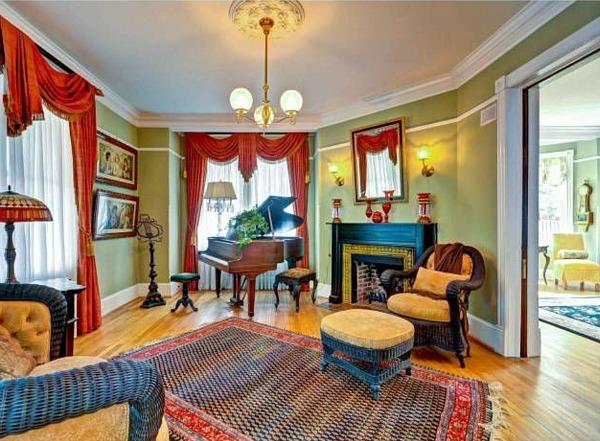 Brady House Kenilworth Garrett Park MD Victorian (10)