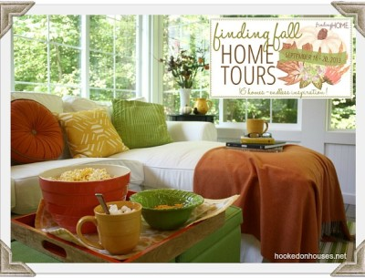 Decorating My House for Fall {Finding Fall Home Tours}