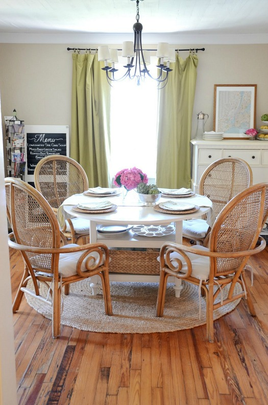 Iron & Twine Dining Room After Makeover