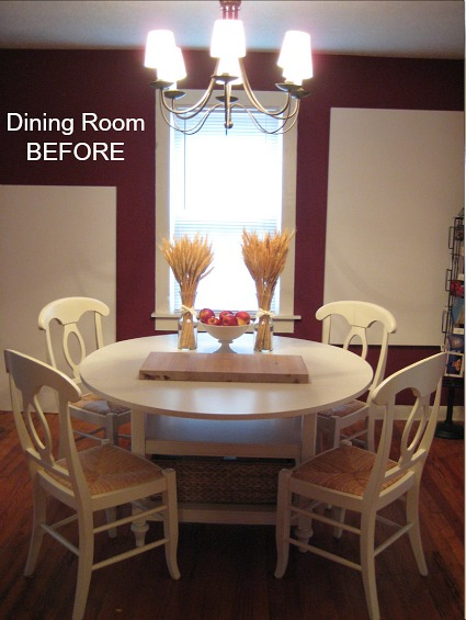 Iron & Twine Dining Room Before Makeover