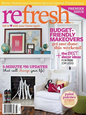cover of Refresh magazine