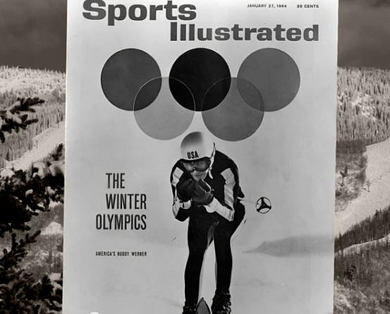 Buddy Werner cover of Sports Illustrated Winter Olympics