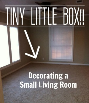 Decorating a Tiny Living Room