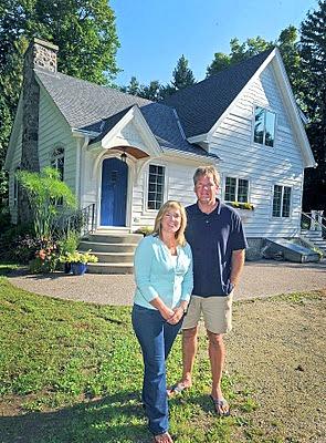 Erin's cottage in Wisconsin Impatient Gardener blog
