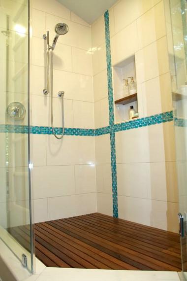 Erin's new shower