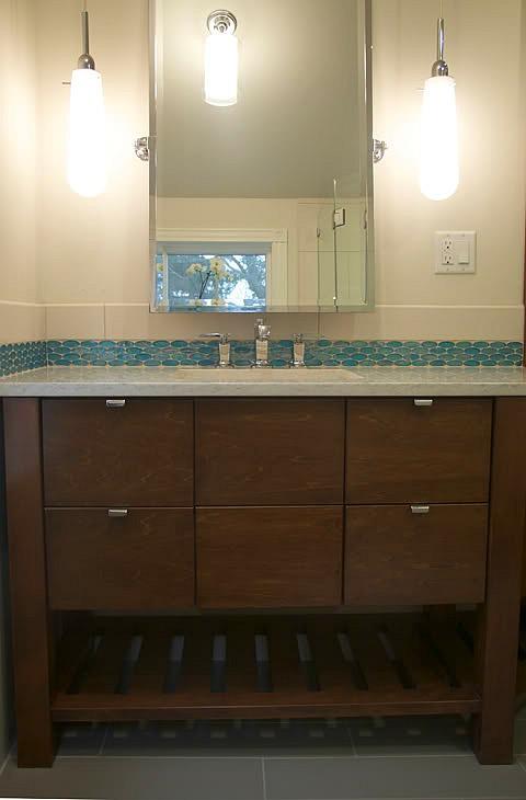 Erin's new sink and vanity