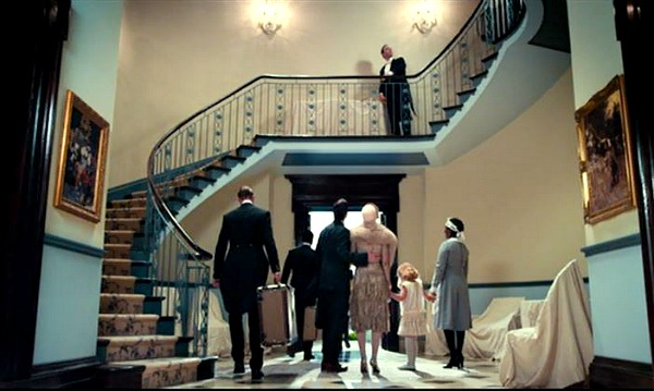 Great Gatsby Daisy's house staircase